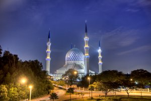The Blue Mosque Shah Alam